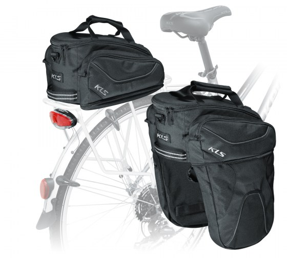 rear pannier bag SPACE 15